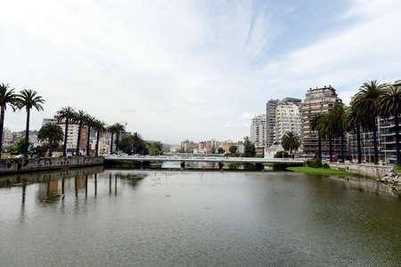 agglomeration: The city of Viña del Mar.