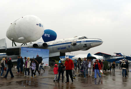 turbojet: Myasishchev VM-T Atlant - heavy transport aircraft is a modification of the strategic bomber 3M Editorial