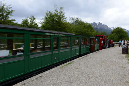 narrow gauge railroads: The southernmost railway in the world on the edge of the Earth. Editorial