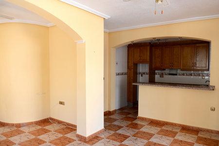 spanish home: Living room Spanish home Editorial