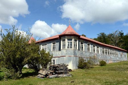 tierra del fuego: Vintage estate Vicuna in Tierra del Fuego