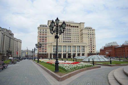 privileged: Manege square, the State Duma of the Russian Federation and the hotel Moscow.