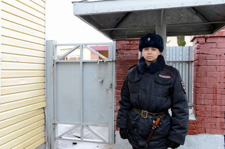 troops: The soldier of internal troops of the MIA of Russia.