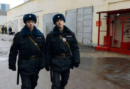 epaulettes: Patrol on the territory of the military unit.