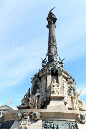 colom: Columbus Monument is 60 m. It is located at finish La Rambla and built in 1888.