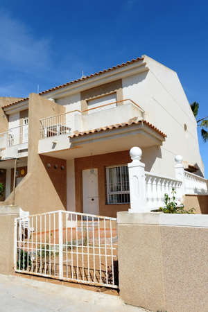 blanca: Residential complex of the Costa Blanca. Editorial