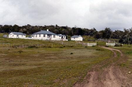 tierra del fuego: Tourist station in Tierra del Fuego.