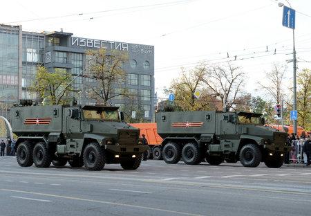 ambush: Mine-Resistant Ambush Protected (MRAP) armored vehicles Typhoon-U. Editorial