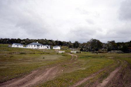 tierra: Tourist station in Tierra del Fuego.