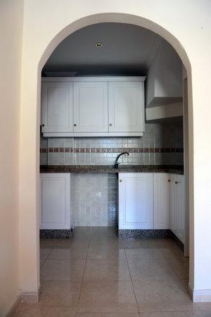 spanish home: The interior Spanish home.