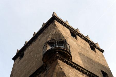spanish village: Spanish village - architectural Museum under the open sky, which shows arhitektura crafts Spain.