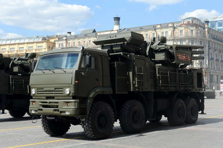 artillery shell: Pantsir-S1 (SA-22 Greyhound) is a combined short to medium range surface-to-air missile and anti-aircraft artillery weapon system Editorial