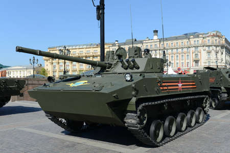 airborne vehicle: The BMD-4M - Combat Vehicle of the Airborne is an amphibious infantry fighting vehicle (IFV).