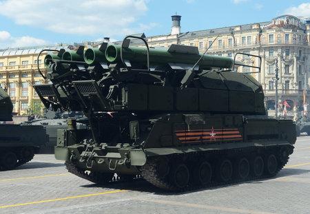 permeability: Anti-aircraft complex Buk-M2
