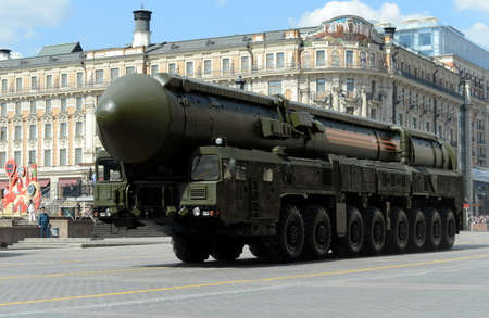 rt: The RS-24 (RT-24) Yars or Topol-MR (NATO reporting name: SS-27 Mod 2) is a Russian MIRV-equipped, thermonuclear weapon intercontinental ballistic missile