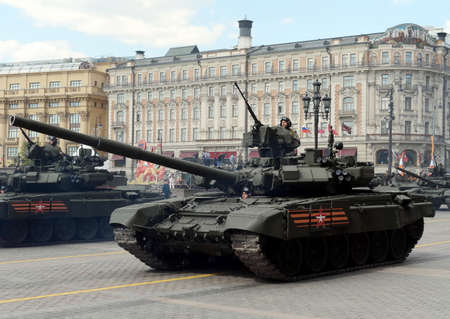 The T-90A is a third-generation Russian main battle tank.