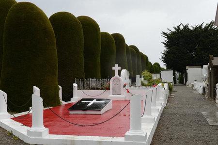 Municipal cemetery Punta Arenas Editorial