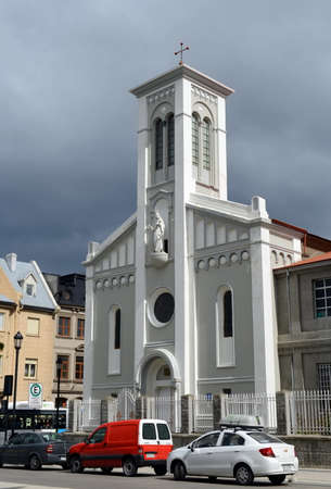 The church in Punta Arenas.