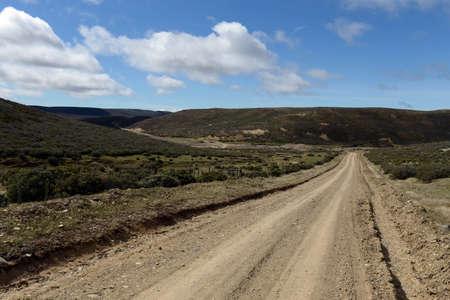 tierra del fuego: The road to Tierra del Fuego.