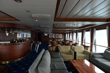 via: Saloon cruise ship Via Australis.