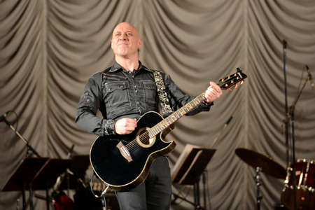 Famous Russian singer Denis Maidanov.