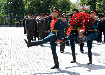roth: The ceremony of laying flowers and wreaths at the Tomb of the Unknown Soldier during remembrance Day.