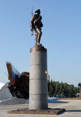 The monument to heroes of WWI on Poklonnaya hill.