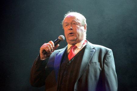 soloist: Singer Evgeny Polikanin.