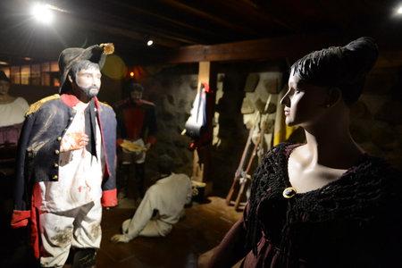 to paula: Museum winery Santa Rita. Editorial