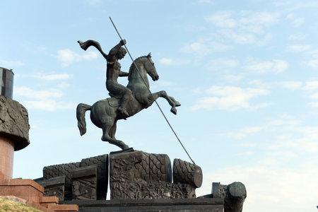 stele: St. George the victorious on Poklonnaya hill. Editorial