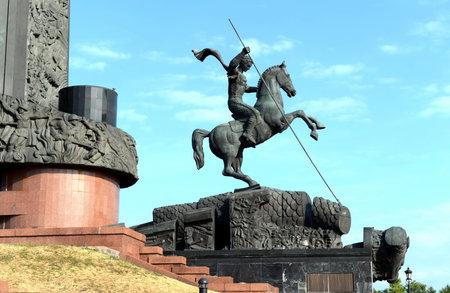 St. George the victorious on Poklonnaya hill. Editorial
