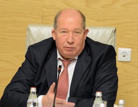 statesman: Russian statesman Viktor Kiryanov