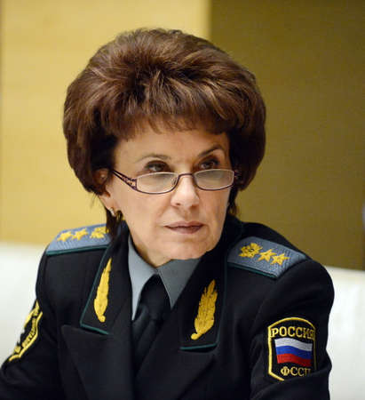 The Deputy Director of the Federal bailiffs service - Deputy chief bailiff of the Russian Federation Tatiana Ignatieva.