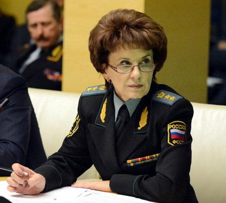 The Deputy Director of the Federal bailiffs service - Deputy chief bailiff of the Russian Federation Tatiana Ignatieva.