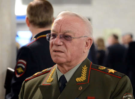 The Minister of internal Affairs of Russia (1995-1998) Anatoly Sergeevich Kulikov, General of the army, the Russian military commander. Doctor of economic Sciences