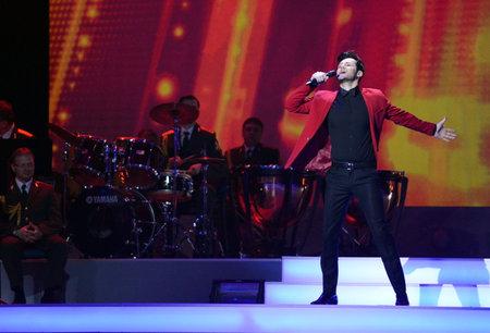 Russian singer Alexander Elovskikh Editorial