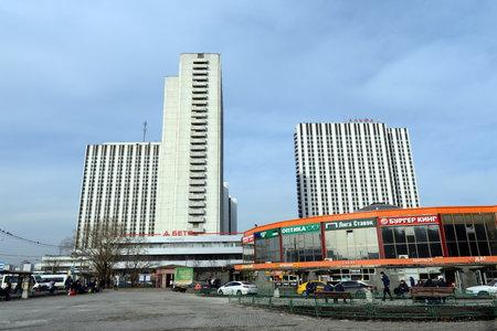 privileged: The hotel complex Izmailovo on Izmailovskoe shosse.