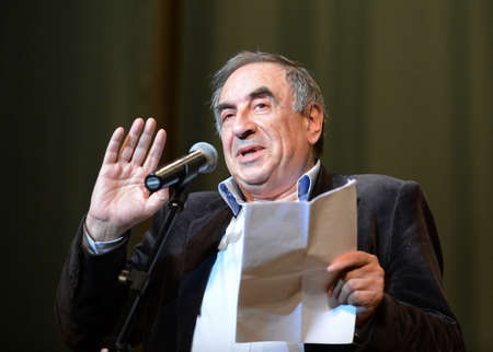 Well-known Russian satirist, writer and humorist Yefim Smolin. Editorial