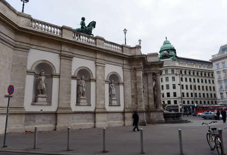 albrecht: The Albertina Museum located in the Palace of Archduke Albrecht in Vienna.