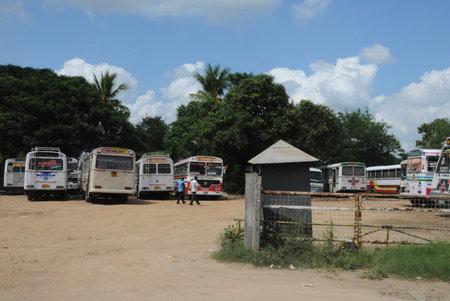 kandy: Bus station in Kandy.