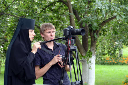 The instruction for shooting during the procession in the Vvedensky Tolga convent.