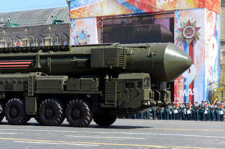 a rehearsal: The RS-24 (RT-24) Yars or Topol-MR (NATO reporting name: SS-27 Mod 2) is a Russian MIRV-equipped, thermonuclear weapon intercontinental ballistic missile. Editorial