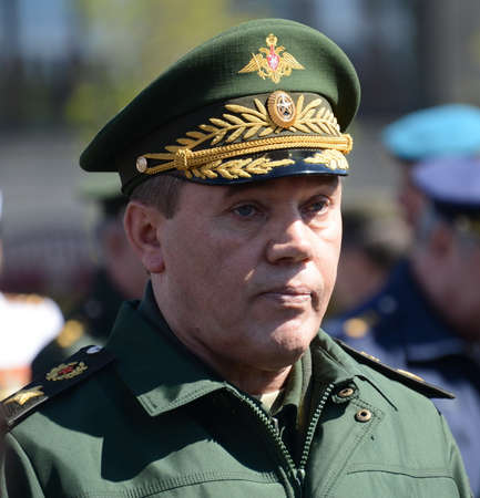 Chief of the General Staff of the Russian Armed Forces.