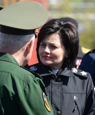 Deputy Minister of Defense of the Russian Federation Tatyana Shevtsova.