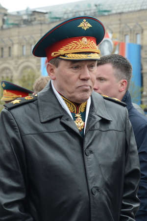 Chief of the General Staff of the Russian Armed Forces - First Deputy Defense Minister, Army General Valery Gerasimov Sajtókép