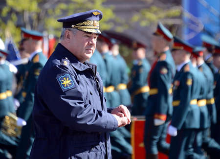 Colonel-General Viktor Bondarev, Commander-in-Chief of the Air and Space Forces of Russia. Editorial