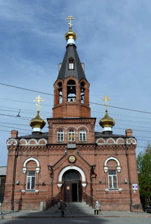 St. Nicholas Church in Barnaul. Editorial