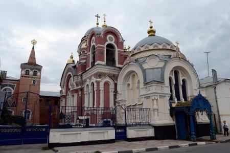 princes street: The temple in the name of the holy princes Alexander Nevsky and Mikhail Tversky on Sovetskaya Street.