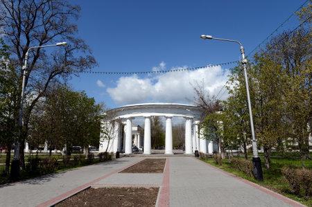 're: Seaside park of the city of Tsimlyansk in the Rostov region.
