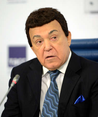 Iosif Kobzon, Soviet and Russian pop singer (baritone), musical and public figure, teacher. Deputy Prime Minister II-VI convocations.